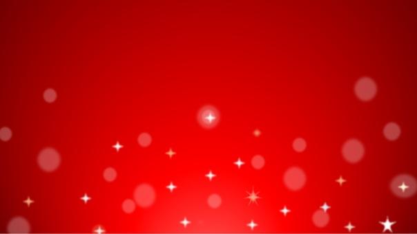 赤のキラキラ背景