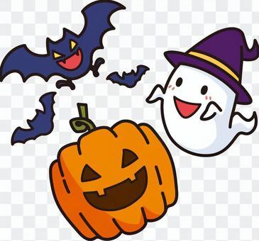ハロウイン おばけ かぼちゃ フリー