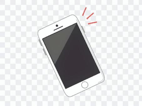 智能手機聰明的白色