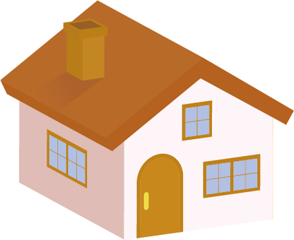 Brown roof house 3