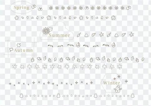 Seasonal line
