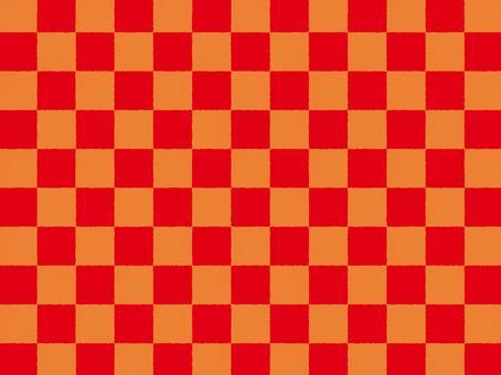 Checkered a_ red zu _cs