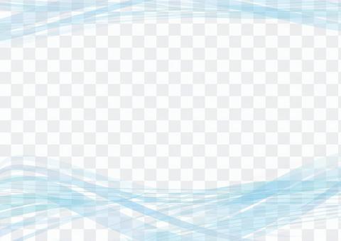 框架邊框背景壁紙淺藍色波波海海洋