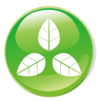 3 츠바 아이콘 - 녹색