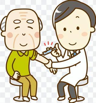 疫苗接種_老人