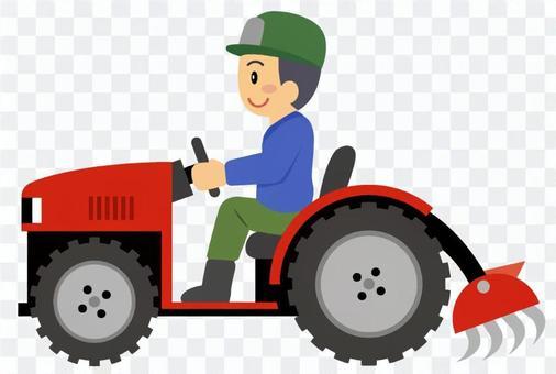 農業-トラクター