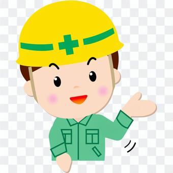 Construction worker _ upper body (to guide)
