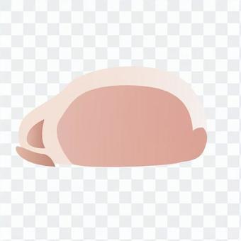 肉 - 豬裡脊肉(切片)