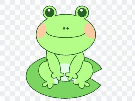 青蛙和葉切