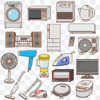 各種家用電器設置