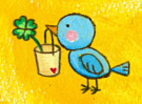 藍鳥和三葉草(迷你型)