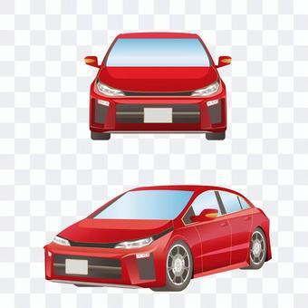 轎車前排和側排緊湊型轎車
