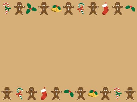 薑餅聖誕框架