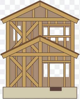住宅 建築中 構造