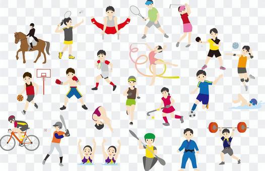 奧運賽事集