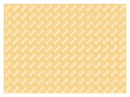 Ribbon pattern ivory