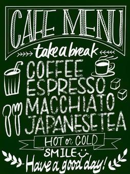 咖啡厅风格的黑板2绿色