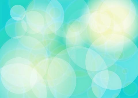 綠松石藍色的光