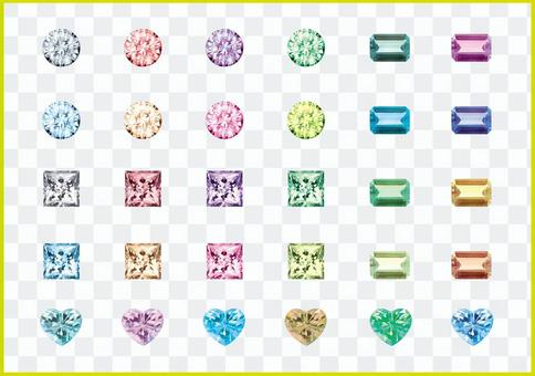 各種豐富多彩的珠寶