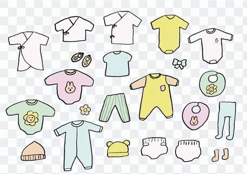 嬰兒衣服套裝2