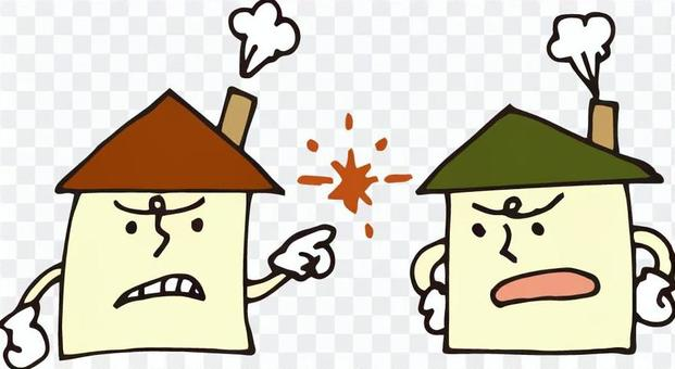 Housing (trouble · fight)