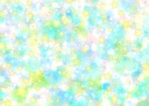 閃閃發光的藍色宇宙