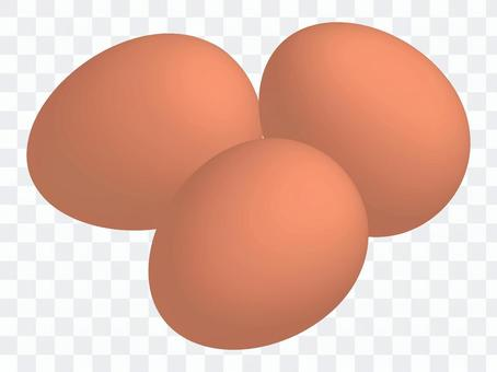 雞蛋(紅色)