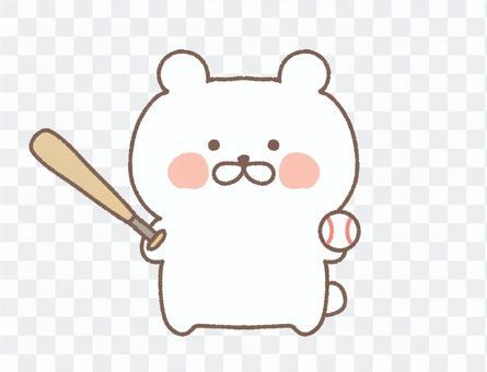 棒球北極熊