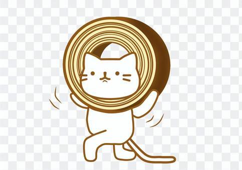 貓baumkuchen
