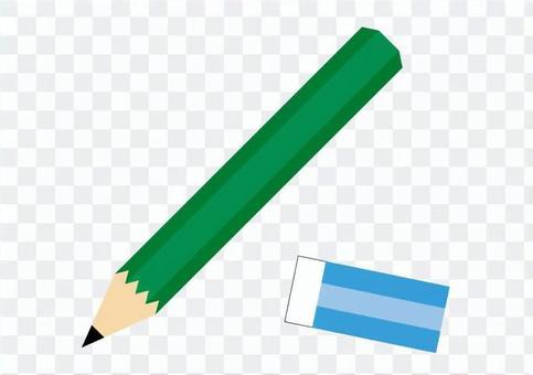 鉛筆和橡皮
