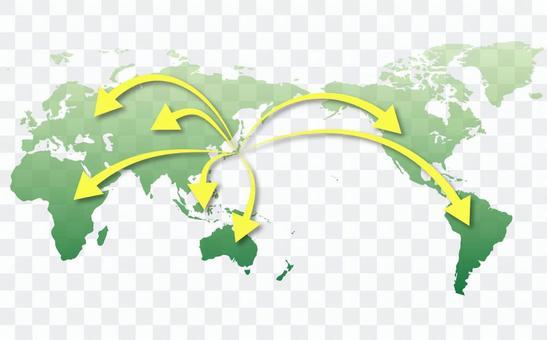 世界地圖⑦