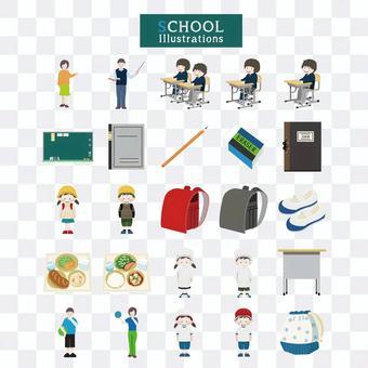 插圖的學校