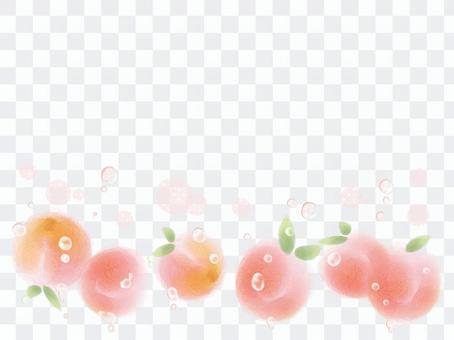 可愛的桃子
