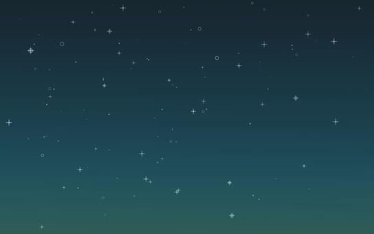 Night sky star background