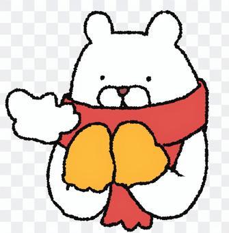 消聲器白熊