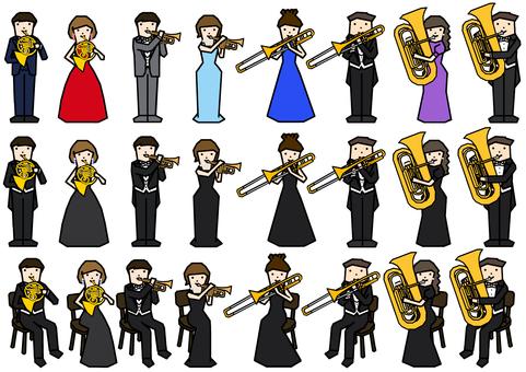 Brass player