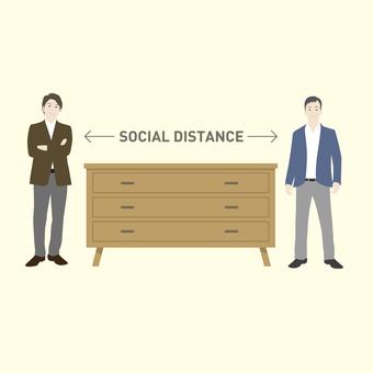 社交距離圖片