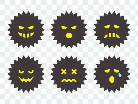 各種表達的病毒