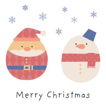 聖誕可愛留言卡