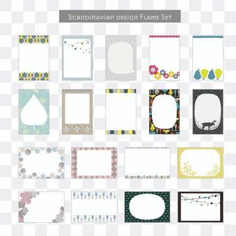 Scandinavian design frame