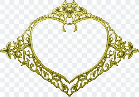 Gothic plate (gold)