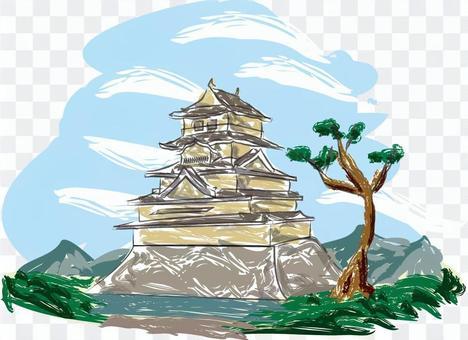 城 和 日本 建築 石垣