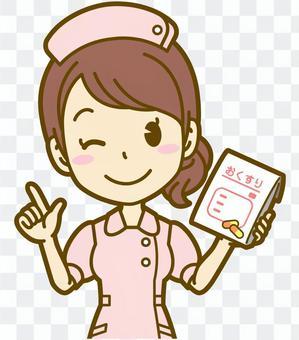 女(護士):C_drug 01BS