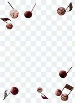 巧克力的筆記框架