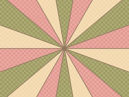 可愛的集中線背景日本圖案