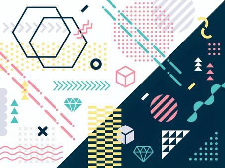 各種各樣的幾何圖案