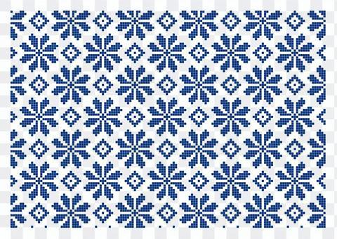Kogin sashimi_pattern_pattern