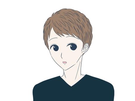 短髮的年輕人(誒)