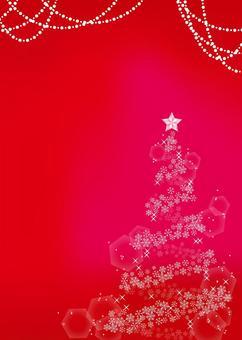 聖誕框架背景,A4長度,與油漆