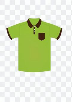 Polo衫(黃綠色)